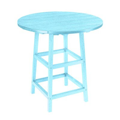 Alanna Bar Table Finish: Aqua