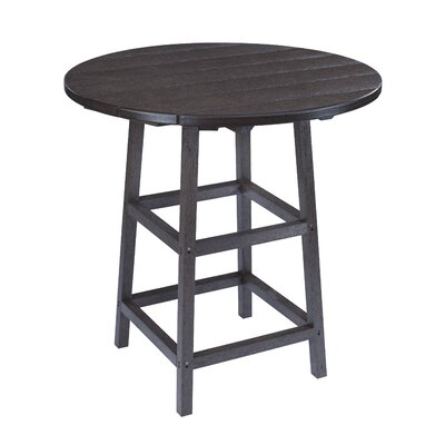 Alanna Bar Table Finish: Black