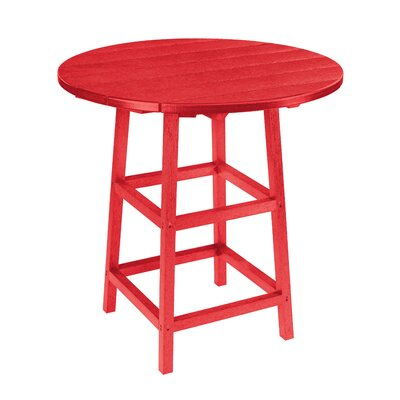 Alanna Bar Table Finish: Red