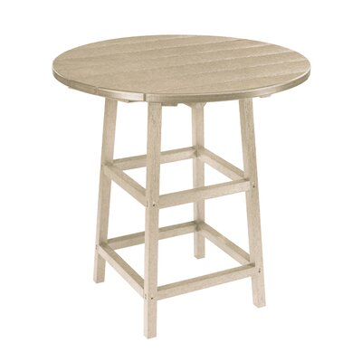 Alanna Bar Table Finish: Beige