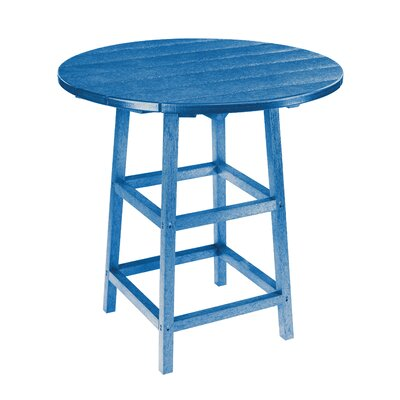 Trinidad Bar Table Finish: Blue