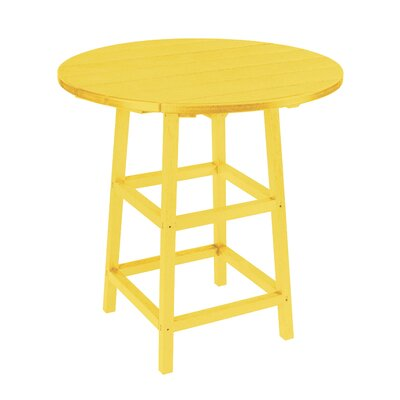 Trinidad Bar Table Finish: Yellow