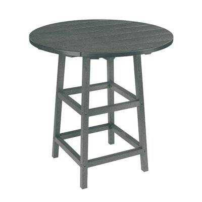 Trinidad Bar Table Finish: Slate Grey