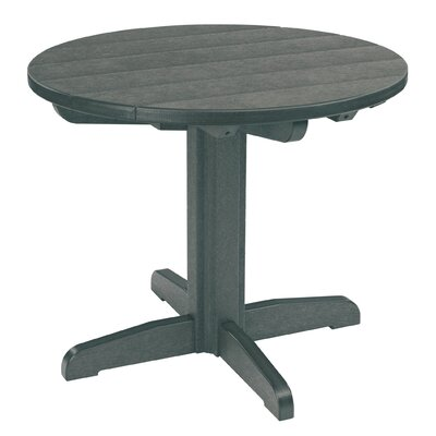 Trinidad Dining Table Table Size: 38 L x 38 W x 33 H, Finish: Blue