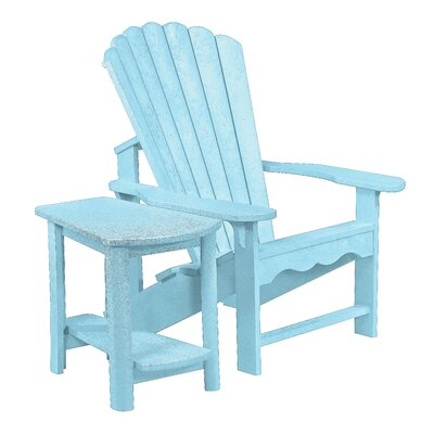 Trinidad Adirondack Chair with Side Table