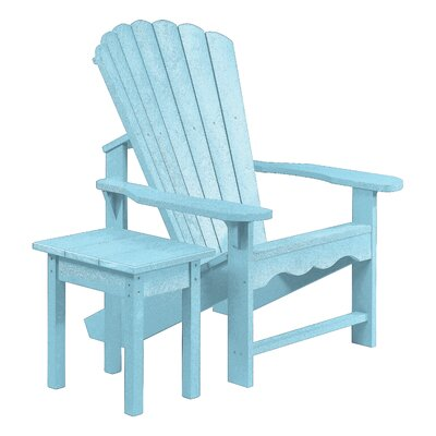 Aloa Adirondack Chair with Table Set