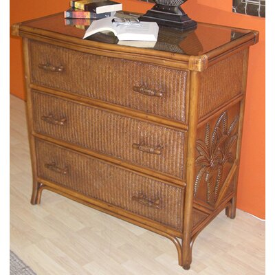 Cypress 3 Drawer Dresser