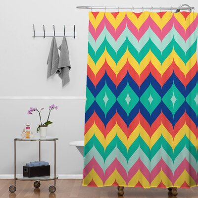 Chevron 5 Shower Curtain
