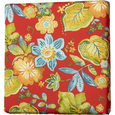 Hiawatha Beach Outdoor Dining Chair Cushion Size: 19 L x 19 W