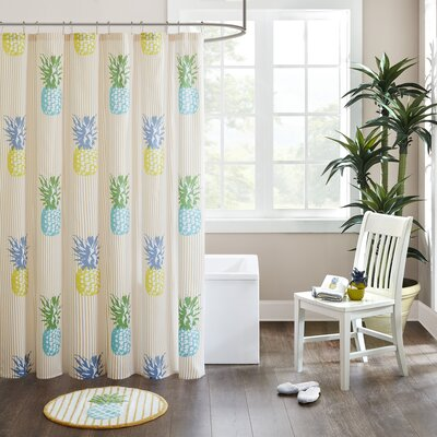 Balido Cotton Printed Shower Curtain