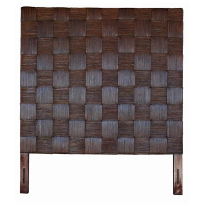 Guay Square Weave Panel Headboard Size: Full