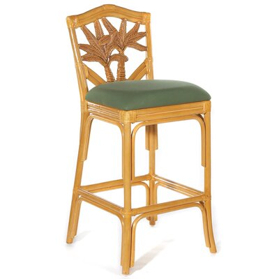 Cypress 30 Bar Stool Fabric: Palm Grove