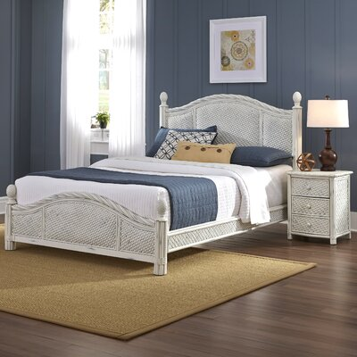 Dessie Panel 2 Piece Bedroom Set Size: Queen, Finish: White
