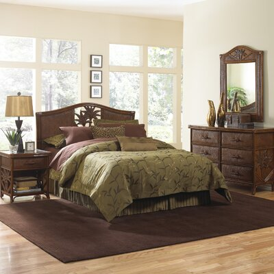 Cypress Platform 4 Piece Bedroom Set Size: King