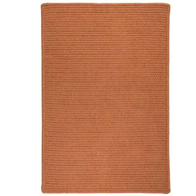 Irini Hand-Woven Orange Area Rug Rug Size: 9 x 12