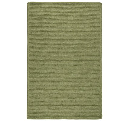 Kaimakli Hand-Woven Green Area Rug Rug Size: 6 x 9
