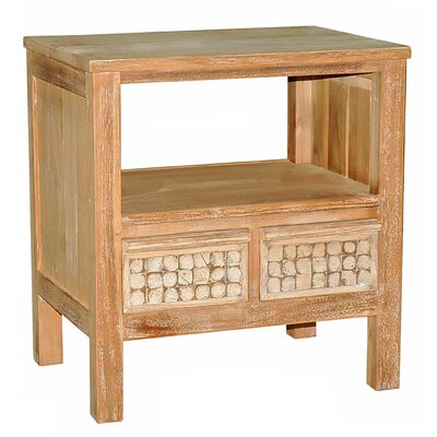Sherlyn 2 Drawer End Table