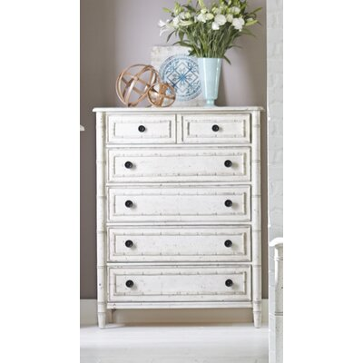 Harrouda 4 Drawer Chest Color: White
