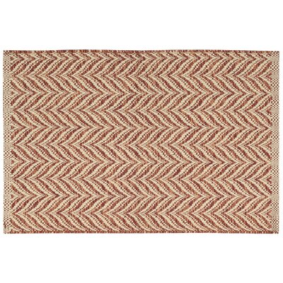 Templos Red Area Rug Rug Size: Rectangle 26 x 4