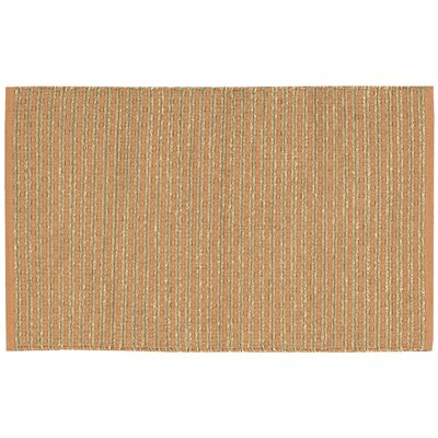 Caicos Brown Area Rug Rug Size: Rectangle 26 x 4
