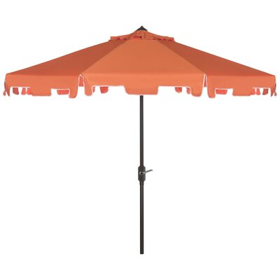 8 Drape Umbrella Fabric: Orange