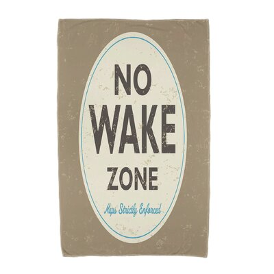 Golden Beach Nap Zone Beach Towel Color: Beige/Taupe