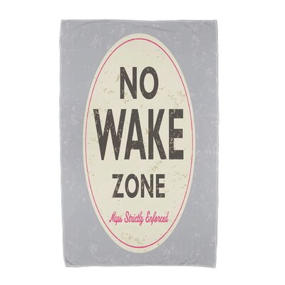 Golden Beach Nap Zone Beach Towel Color: Gray