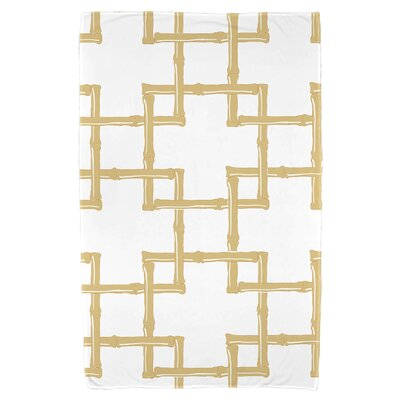 Pelican Bay Bamboo 2 Beach Towel Color: Gold