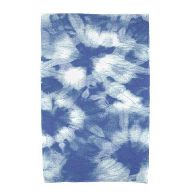 Chilla Geometric Print Beach Towel Color: Blue