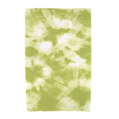 Chilla Geometric Print Beach Towel Color: Light Green