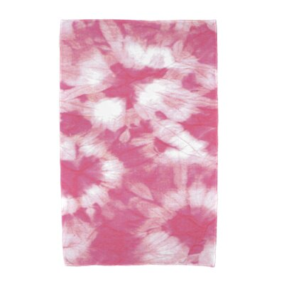 Chilla Geometric Print Beach Towel Color: Pink