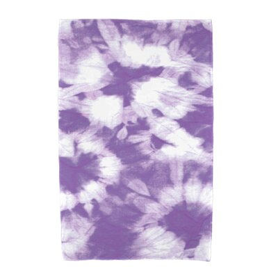 Chilla Geometric Print Beach Towel Color: Purple