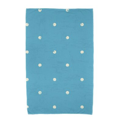 Polka Dot Beach Towel Color: Turquoise