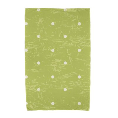 Polka Dot Beach Towel Color: Light Green