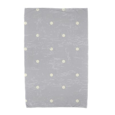 Polka Dot Beach Towel Color: Gray