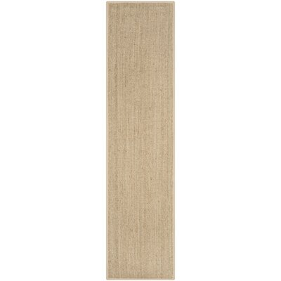 Lemoyne Brown Area Rug Rug Size: Runner 26 x 10