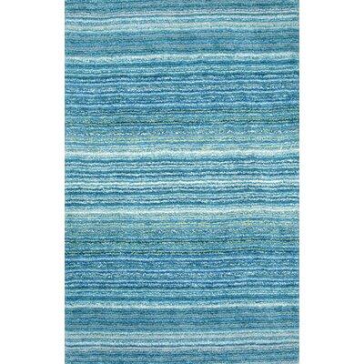 Acklins Hand-Tufted Sky Blue Area Rug Rug Size: 8 x 10