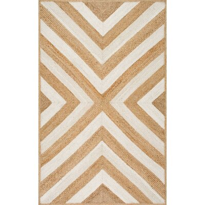Agia Natural Area Rug Rug Size: 5 x 8