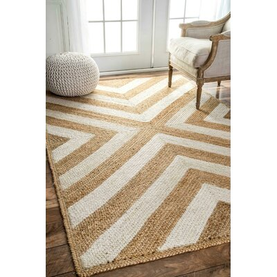 Agia Natural Area Rug Rug Size: Rectangle 76 x 96