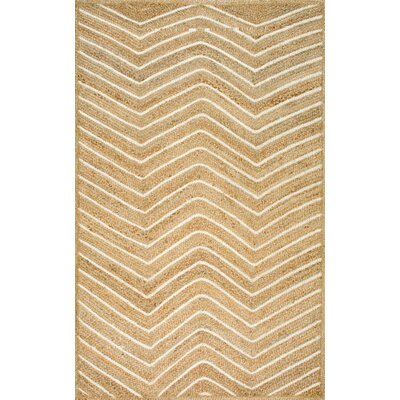 Agirta Natural Area Rug Rug Size: Rectangle 5 x 8