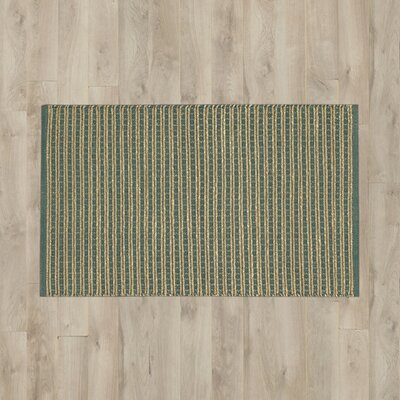 Caicos Teal/Brown Area Rug