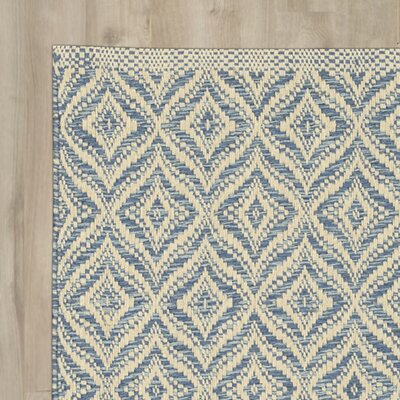 Templos Denim/Gray Area Rug Rug Size: Rectangle 2 x 3