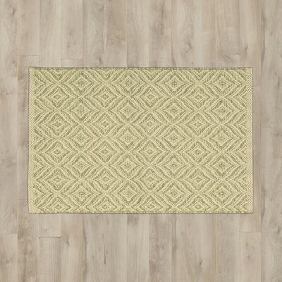 Antigua Light Green/Cream Area Rug