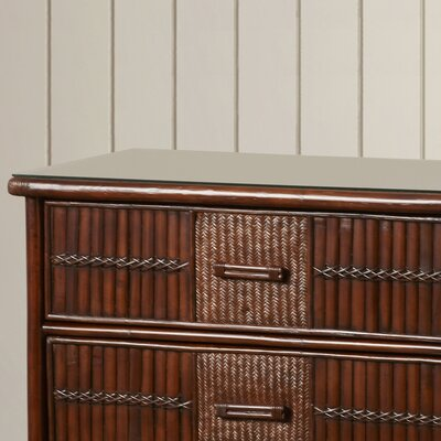 Hutchinson Island South 3 Drawer Wood Dresser
