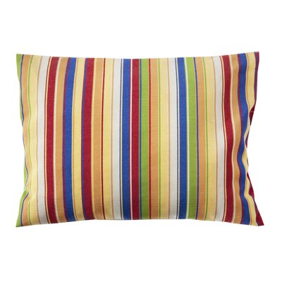 Trinidad Sunbrella Throw Pillow Color: Stripe