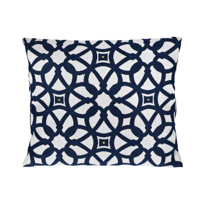 Trinidad Sunbrella Lumbar Pillow Color: Luxe Indigo