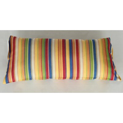 Trinidad Outdoor Lumbar Pillow Color: Stripe