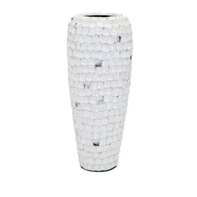 Shell Vase Size: 21.25 H x 9 W x 9 D