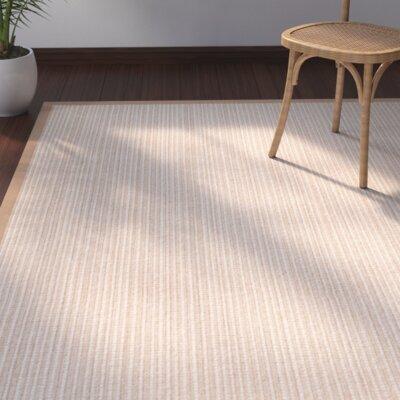 Casa Roma Hand-Loomed Tan Area Rug Rug Size: Square 8