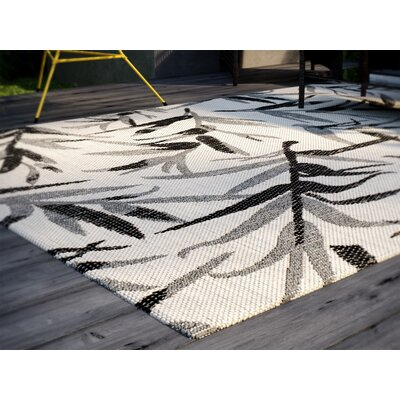 Higgs Beige/Anthracite Area Rug Rug Size: Rectangle 8 x 11